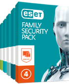 ESET Family Security Pack - krabica